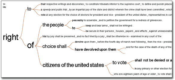 в Конституции США на Many